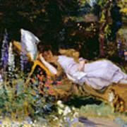 An Afternoon Nap Art Print by Harry Mitten Wilson