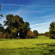 An Autumn Golf Day Art Print