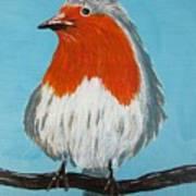 An English Robin Art Print