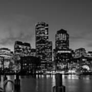 An Evening In Boston Art Print
