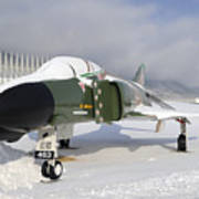 An F-4d Phantom II Aircraft Static Art Print