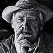An Honest Man Print by Ron  McGinnis