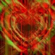 An Inimitable Heart Art Print