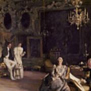 An Interior In Venice Art Print