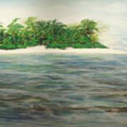 An Island All To Myself 1 Art Print