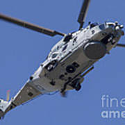 An Nh90 Helicopter Of The French Navy Art Print
