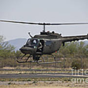 An Oh-58 Kiowa Helicopter Of The U.s Art Print