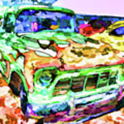An Old Pickup Truck 1 Art Print