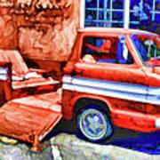 An Old Pickup Truck 2 Art Print