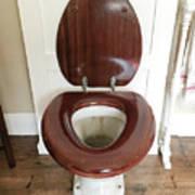 An Old Toilet Art Print