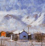Anaktuvuk - Eskimo Village Art Print