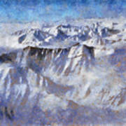 Anaktuvuk Pass Alaska Art Print