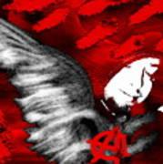 Anarchy Angel Art Print
