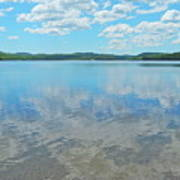 Anasagunticook Lake, Canton, Me, Usa 10 Art Print