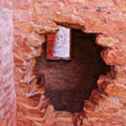 Anasazi Cliff Dwellings #10 Art Print