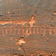 Anasazi Dancers Art Print