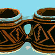 Anasazi Double Mug Art Print