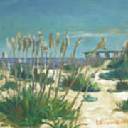 Anastasia Island Art Print