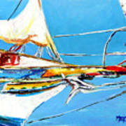 Anchored 2 Art Print