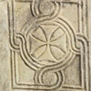 Ancient Cross Pattee Art Print