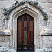 Ancient Door Art Print by Douglas Barnett