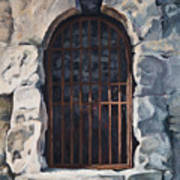 Ancient Door Art Print
