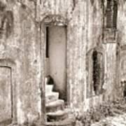 Ancient Door Way Art Print