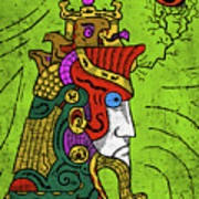 Ancient Egypt Pharaoh Art Print