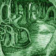 Ancient Forest Art Print