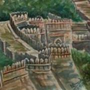 Ancient Fort Art Print