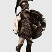 Ancient Greek Hoplite Art Print
