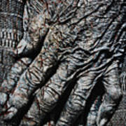 Ancient Hands Art Print by Skip Nall