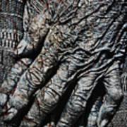 Ancient Hands Art Print