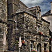 Ancient Mansion - Rochefort-en-terre - La Bretagne Art Print