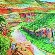 Ancient One Views River Art Print