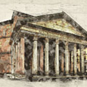 Ancient Pantheon Art Print