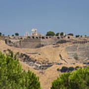 Ancient Pergamon Acropolis Art Print