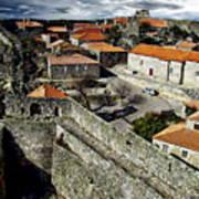 Ancient Portuguese Cities Art Print