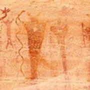 Ancient Rock Art 2 Art Print