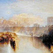 Ancient Rome - Agrippina Landing With The Ashes Of Germanicus Art Print