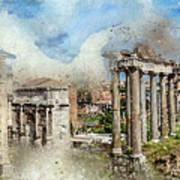 Ancient Rome II Art Print