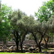 Ancient Ruins Temple Grounds 2 Art Print