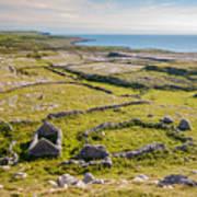 Ancient Settlement In The Burren Art Print