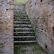 Ancient Stairs Rome Italy Art Print