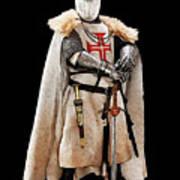 Ancient Templar Knight - 02 Art Print