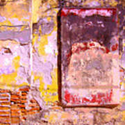 Ancient Wall 7 By Michael Fitzpatrick Art Print