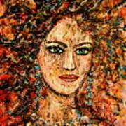 Ancient Woman Art Print