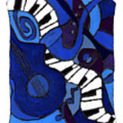 and All That Jazz two Art Print
