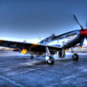 And Who Could Forget Betty Jean.  P51c Nl25imx  Art Print