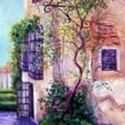 Andalucian Garden Art Print